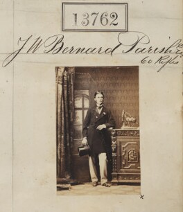 Mr J.W. Bernard Parish, by Camille Silvy - NPG Ax63393