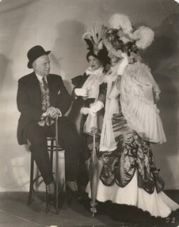 Sir Charles Blake Cochran with two actresses from 'Cochran's 1930 Revue', by Sasha (Alexander Stewart) - NPG x198538