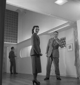 Alec Hunter; Lucienne Day (née Conradi), by John Gay - NPG x200994
