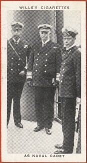 'As Naval Cadet' (King George V; King George VI; Sir George Astley Callaghan), issued by W.D. & H.O. Wills, after  Unknown photographer - NPG D47270