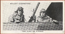 'The King as Airman' (King George VI; Sir Louis Leisler Greig), issued by W.D. & H.O. Wills, after  Unknown photographer - NPG D47271