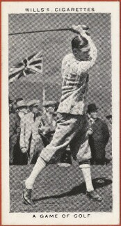'A Game of Golf' (King George VI), issued by W.D. & H.O. Wills, after  Unknown photographer - NPG D47280