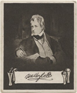Sir Walter Scott, 1st Bt, issued by Sarony & Co, after  Sir Edwin Henry Landseer - NPG D48915