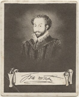 Sir Francis Drake, issued by Sarony & Co, after  Unknown artist - NPG D48916