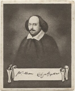 William Shakespeare, issued by Sarony & Co, after  John Taylor - NPG D48918
