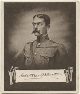 Horatio Herbert Kitchener, 1st Earl Kitchener of Khartoum, issued by Sarony & Co, after  Sir Hubert von Herkomer, after  Frederick Goodall - NPG D48919