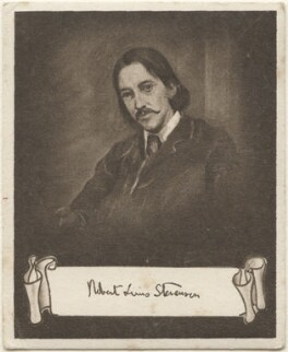 Robert Louis Stevenson, issued by Sarony & Co, after  Sir William Blake Richmond - NPG D48921