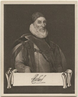 Charles Howard, 1st Earl of Nottingham, issued by Sarony & Co, after  Unknown artist - NPG D48928