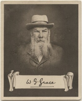 William Gilbert ('W.G') Grace, issued by Sarony & Co, after  Unknown artist - NPG D48929