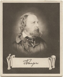 Alfred Tennyson, 1st Baron Tennyson, issued by Sarony & Co, after  M. Arnault, after  John Jabez Edwin Mayall - NPG D48932