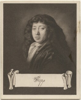 Samuel Pepys, issued by Sarony & Co, after  John Hayls - NPG D48933