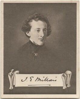Sir John Everett Millais, 1st Bt, issued by Sarony & Co, after  Charles Robert Leslie - NPG D48938