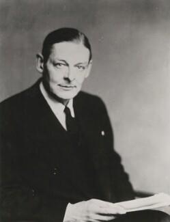 T.S. Eliot, by Walter Stoneman - NPG x198560