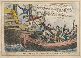 Pity Our Fall, Good Seamen All!!!, published by E. King - NPG D48838