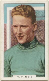 Henry Edward ('Harry') Hibbs, issued by Gallaher Ltd - NPG D48945