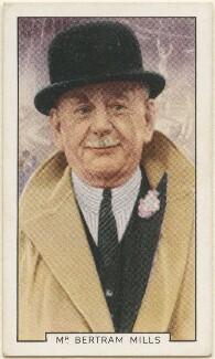 Bertram Wagstaff Mills, issued by Gallaher Ltd - NPG D48946