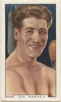 Len Harvey, issued by Gallaher Ltd - NPG D48947
