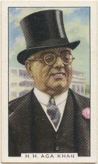 Aga Khan III (Mohammed Shah), issued by Gallaher Ltd - NPG D48953