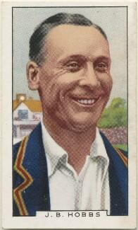 Sir John Berry ('Jack') Hobbs, issued by Gallaher Ltd - NPG D48960