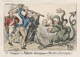 The Champions of Reform destroying the Monster of Corruption, published by George Humphrey - NPG D48846