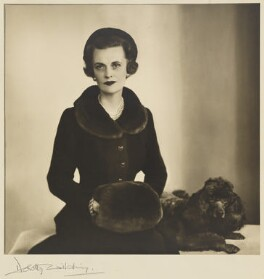 (Ethel) Margaret Campbell (née Whigham), Duchess of Argyll, by Dorothy Wilding - NPG x200883