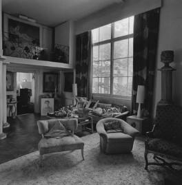 Interior of Dorothy Wilding's last studio and home, by John Adriaan - NPG x200893