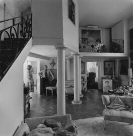 Interior of Dorothy Wilding's last studio, by John Adriaan - NPG x200895