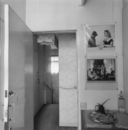 Interior of Dorothy Wilding's last studio and home (hallway), by John Adriaan - NPG x200896