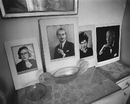 Display of prints in Dorothy Wilding's last studio and home, by John Adriaan - NPG x200900
