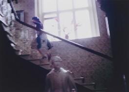 Queen Elizabeth II ('Queen Elizabeth Running Upstairs'), by David Montgomery - NPG x201262