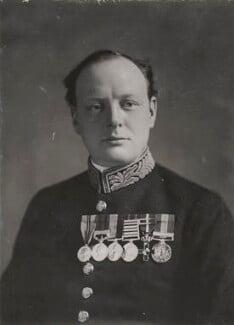 Winston Churchill, by Elliott & Fry - NPG x198594