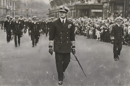 David Richard Beatty, 1st Earl Beatty during the Victory Parade, by Unknown photographer - NPG x198599
