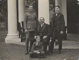 General Louis Botha with his sons (Louis Botha; Philip George Botha; Louis Botha; John Cheere Emmett Botha), by Arthur Elliott - NPG x196009