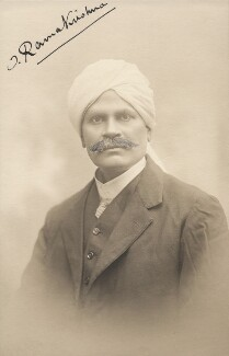 Possibly T. Ramakrishna (Thottakadu Ramakrishna Pillai), by Colin Campbell Ramsay - NPG x196011