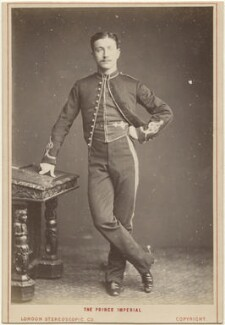 Napoléon, Prince Imperial, by London Stereoscopic & Photographic Company - NPG x196016