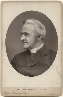 Henry Parry Liddon, by London Stereoscopic & Photographic Company, after  George Carpe Whitfield, for  Lock & Whitfield - NPG x196017