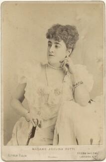 Adelina Patti, by Alfred Ellis - NPG x196018