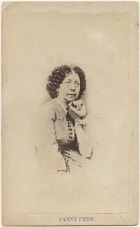 Fanny Fern (Sara Willis), by Unknown photographer - NPG x196023