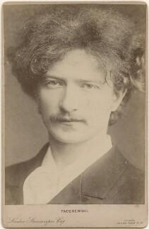 Ignace Jan Paderewski, by Oscar Remandas, for  London Stereoscopic & Photographic Company - NPG x196024