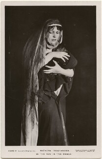 Natacha Trouhanowa as the nun in 'The Miracle', by E.O. Hoppé, published by  Rotary Photographic Co Ltd - NPG x196043