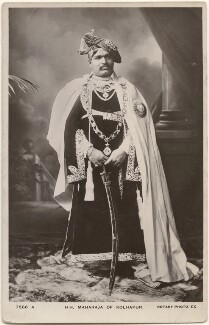 Sir Shahu Chhatrapati, Maharaja of Kolhapur, by Carl Vandyk, published by  Rotary Photographic Co Ltd - NPG x196053