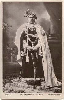 Sir Shahu Chhatrapati, Maharaja of Kolhapur, by Carl Vandyk, published by  Rotary Photographic Co Ltd - NPG x196053
