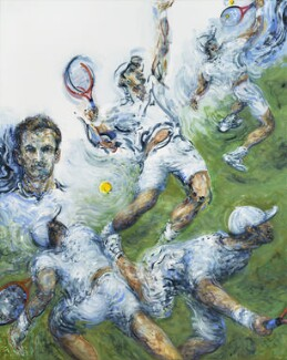 Andy Murray, by Maggi Hambling - NPG 7106