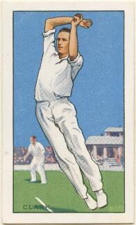 E. C. Clark, issued by Gallaher Ltd - NPG D49007
