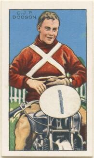 C. J. P. ('Charlie') Dodson, issued by Gallaher Ltd - NPG D49008