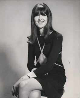 Cathy McGowan, by Unknown photographer - NPG x196062