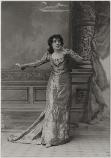 Mrs Patrick Campbell as Juliet in 'Romeo and Juliet', by Alfred Ellis & Walery - NPG x196080