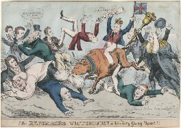 The Reformers Victorious!!! or the Tory Gang Upset, published by John Fairburn - NPG D48856