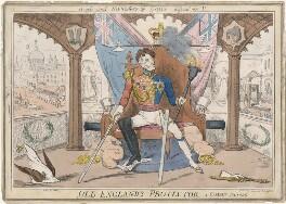 Arthur Wellesley, 1st Duke of Wellington ('Old England's Protector'), published by Gabriel Shire Tregear - NPG D48859
