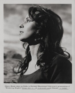 Claire Bloom as Cathy in 'Wuthering Heights', by Unknown photographer - NPG x196097